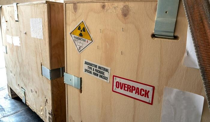 DG Shipping of radioactive packages