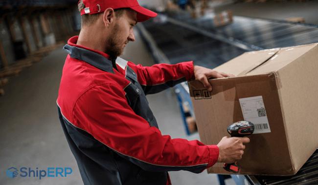 Inbound logistics software feature
