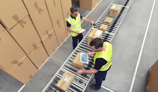 Inbound logistics software