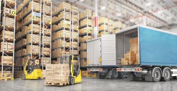 SAP supply chain management loading dock