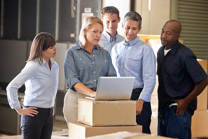 Using SAP Business One in warehouse team