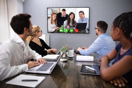 Video Call during Conference