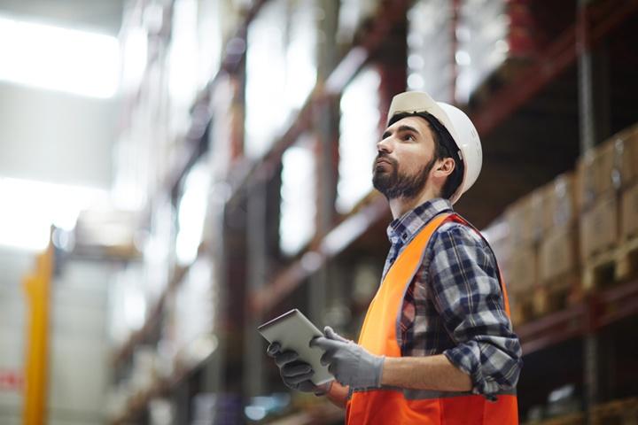 checking inventory with sap logistics management