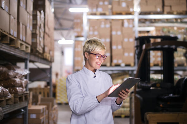 transportation management system in the warehouse