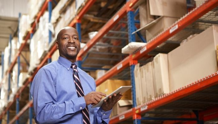 using enterprise TMS in a warehouse