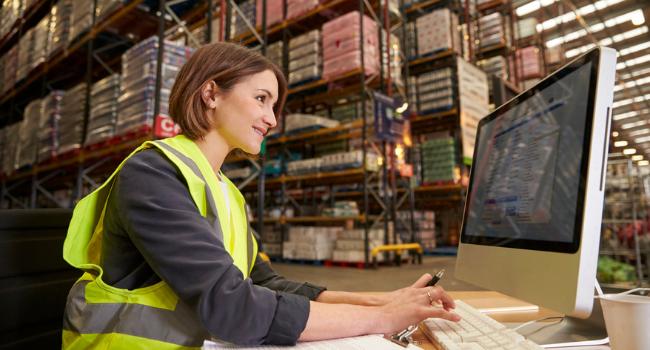 warehouse management process flow
