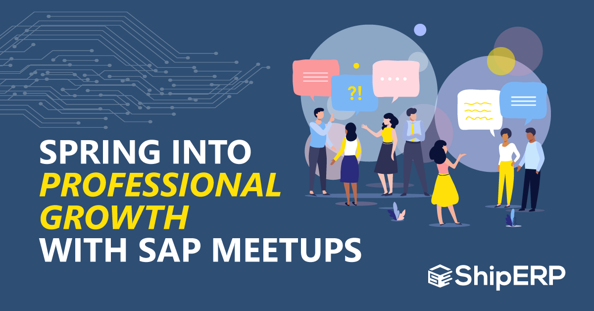Spring into professional growth with SAP meetups